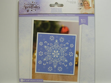Crafters Companion - Glittering Snowflake Collection - Frosted Dimension Die