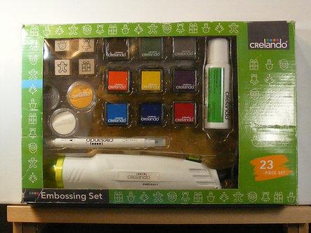 Crelando - Christmas Embossing Set.