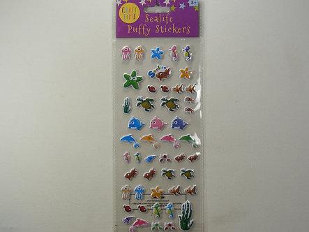 Craft Time - Sealife Puffy Sticker Sheet