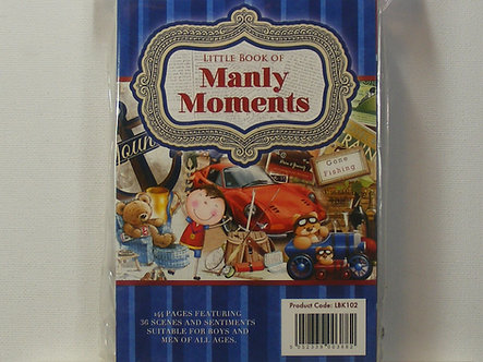 Hunkydory - Little Book Of Manly Moments.