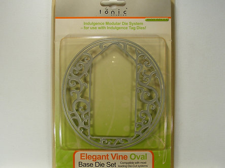 Tonic - Elegant Vine Oval Base Die Set