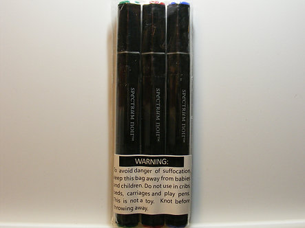 Spectrum Noir - Red, Green & Blue Pens (3pk)