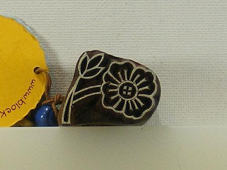 Block Wallah - Tiny Indian Flower