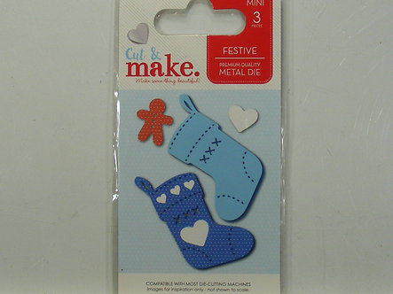 Cut & Make - Festive Stocking Dies.