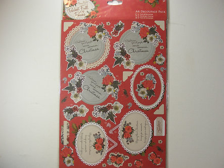 Docrafts - A Pocket Full Of Posies A4 Decoupage Pack