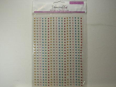 Dovecrafts - Adhesive Gemstones Pastel Pack