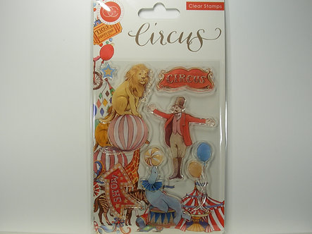 Craft Consortium - The Circus Clear Stamps