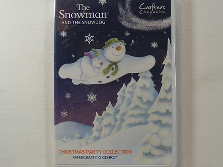 Crafters Companion The Snowman And The Snowdog Papercrafting CD-Rom
