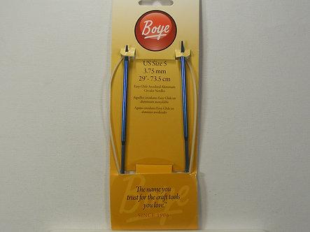 "Boye - Circular Aluminum Knitting Needles 29""-Size 5/3.75mm"