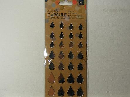 Dovecraft Capsule - Geometric Adhesive Mirror Stickers
