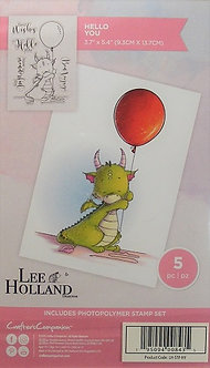 Crafters Companion - Lee Holland Designs - Hello You
