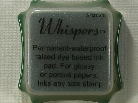 Archival - Whispers Sugarloaf Green Dye Based Ink Pad