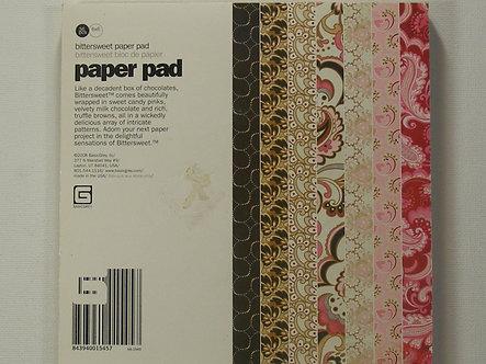 "Basic Grey - Bittersweet 6"" x 6"" Paper Pad"