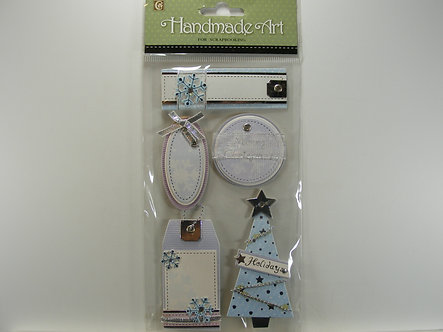 Clover - Handmade Christmas Stickers