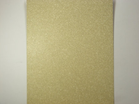 A4 Glitter Card (Non Shed) - Champagne 180gsm.