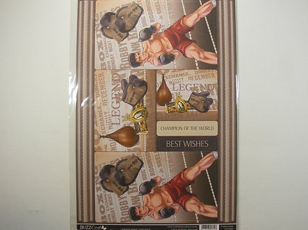 Buzzcraft - Vintage Sport - Knockout Topper Sheet.