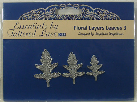 Tattered Lace - Floral Layers Leaves Dies