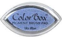 Colorbox - Pigment Brush Pad - Sky Blue