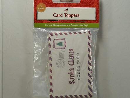 Hobbycraft - Letter To Santa Card Toppers