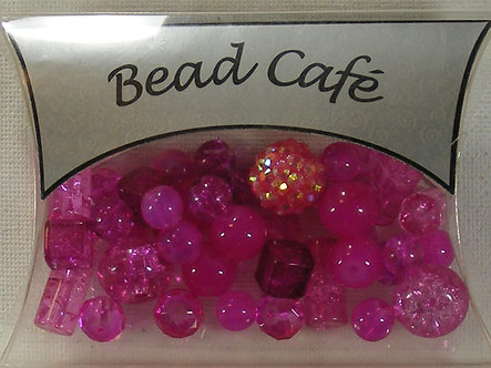 Bead Cafe - Hot Diva Mixed Beads (50gms)
