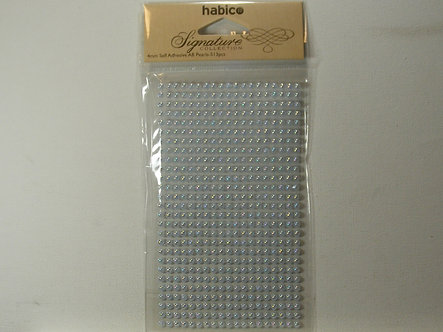 Habico - Signature Collection Baby Blue 4mm Round Pearls