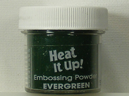 Heat It Up - Evergreen Embossing Powder