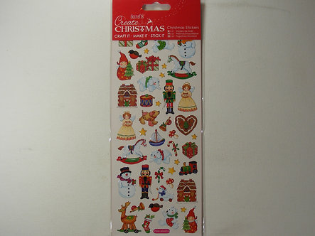 Docrafts - Create Christmas Stickers - Christmas Toys.