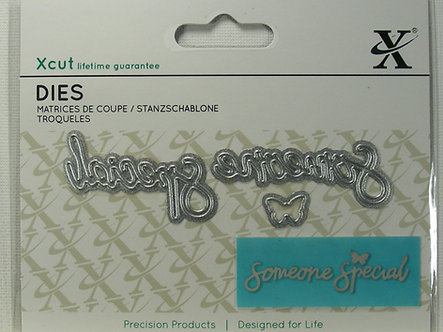 Xcut - Mini Sentiment Die - Someone Special