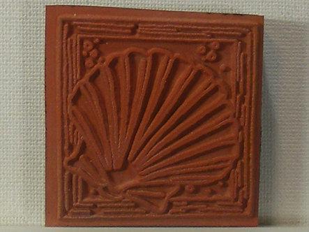 Unbranded - Framed Shell Foam Mounted Rubber Stamp