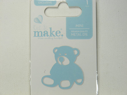 Cut & Make - Mini Baby Dies - Teddy Bear
