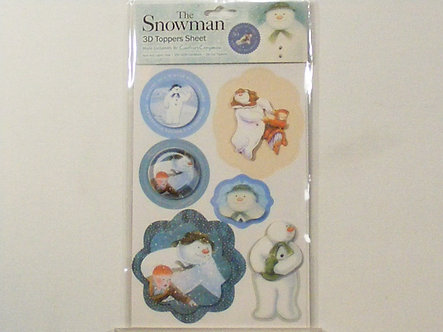 Crafters Companion - The Snowman 3D Topper Set 2