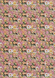 A4 Double-Sided Designer Paper - Floral 3