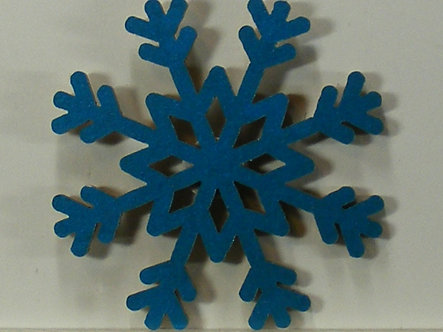 Hobbycraft - Snowflakes Wooden Toppers