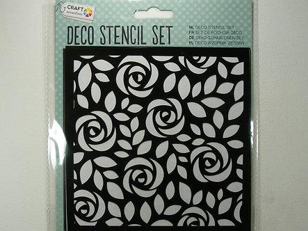 Craft Sensations - Deco Stencil Set