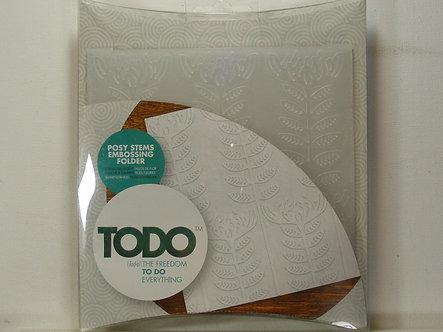Todo - Posy Stems Embossing Folder