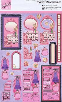 Anita's Foiled Decoupage - Dressing Room