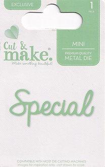 Cut & Make - Mini Sentiment Dies - Special