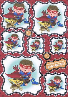 Buzzcraft - Childhood Memories - Superheroes