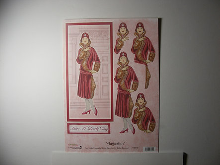 Hobby Habit Augustina Decoupage Sheet.