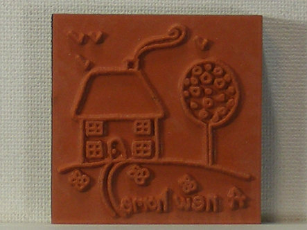 Unbranded - A New Home Foam Mounted Rubber Stamp
