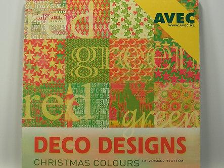 Avec - Deco Designs - Christmas Colours