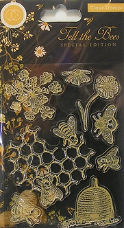 Craft Consortium - Tell The Bees Clear Stamps