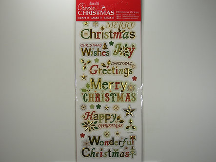 Docrafts - Create Christmas - Sentiments.