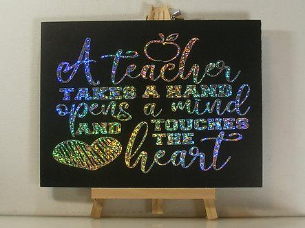 Teacher Handmade Gift
