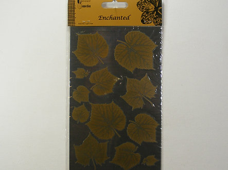 Craftime - Enchanted Gold & Silver Leaf Stickers