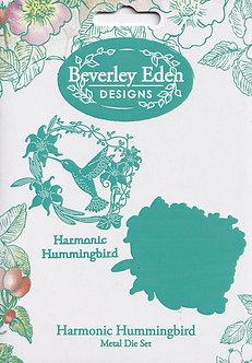 Beverley Eden Designs - Harmonic Hummingbird Die Set