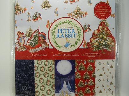 "Avec - Peter Rabbit 8"" x 8"" Paper Pack"