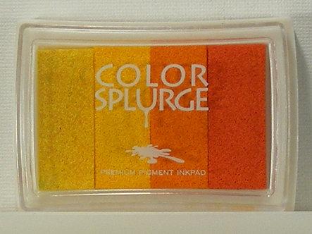 Color Splurge - Pigment Inkpad - Oranges.
