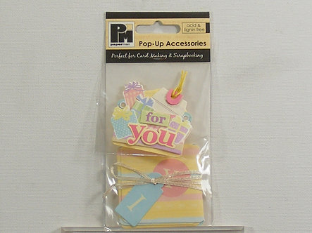 Papermania - Pop-Up Accessories - Gifts For You.