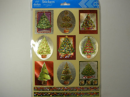 Dufex - Christmas Tree Stickers.